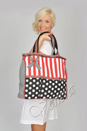 Сделанные итальянскими производителями, женские сумки из ткани...